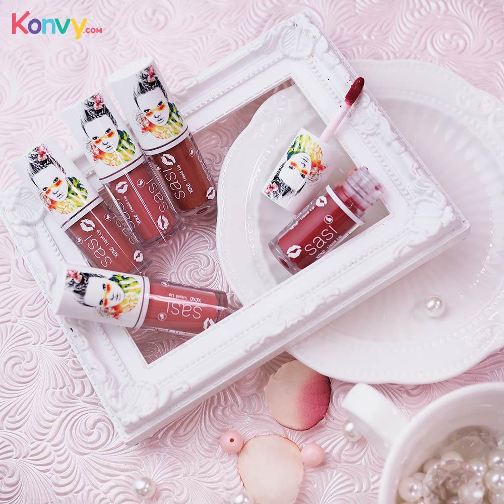 SASI by Srichand Xoxo Liquid Lip 3g #401 Irresistable Red_1