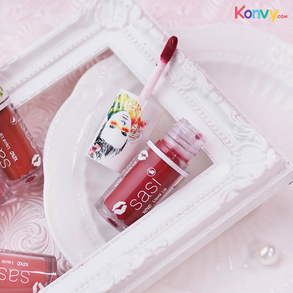 SASI by Srichand Xoxo Liquid Lip 3g #401 Irresistable Red_2