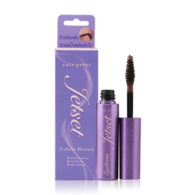 Cute Press Jet Set Eyebrow Mascara #Dark Brown