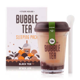 Etude House Bubble Tea Sleeping Pack 100g #Black Tea