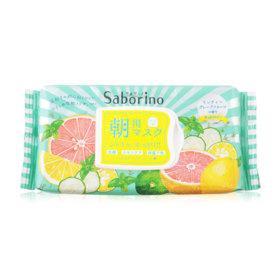 SABORINO Morning Facial Sheet Mask Minty Fresh 32sheets