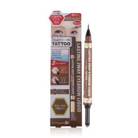 K-Palette Lasting 2 Way Eyebrow Liquid (Powder 0.6g + Liquid 0.4ml) #Light Brown