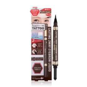 K-Palette Lasting 2 Way Eyebrow Liquid (Powder 0.6g + Liquid 0.4ml) #Natural Brown