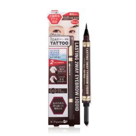 K-Palette Lasting 2 Way Eyebrow Liquid (Powder 0.6g + Liquid 0.4ml) #Mocha Brown