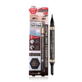 K-Palette Lasting 2 Way Eyebrow Liquid (Powder 0.6g + Liquid 0.4ml) #Grayish Brown