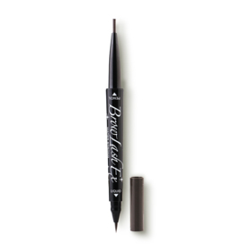BROWLASH Ex Eyebrow Pencil 0.1g & Liquid 0.3ml #Grayish Brown