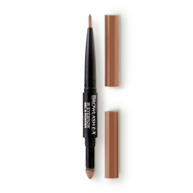 BROWLASH Ex Eyebrow Pencil 0.15g & Powder 0.4g #Light Brown