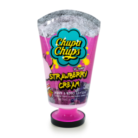Chupa Chups Hand & Body Lotion 120ml #Strawberry Cream