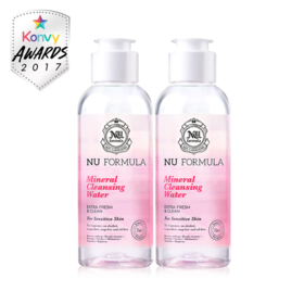 แพ็คคู่ Nu Formula Mineral Cleansing Water For Sensitive Skin (100ml×2)