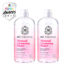 แพ็คคู่ Nu Formula Mineral Cleansing Water (510ml x 2)