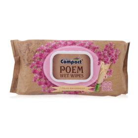 Brita Poem Wet Wipes Italian Bougainvillea 100pcs