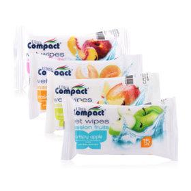 Brita Passion Fruits Wet Wipes Set 4 Items (Casaba Melon + Crispy Apple + Fresh Mango + Juicy Peach)