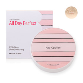 Etude House Any Cushion All Day Perfect SPF50+ PA+++ 14g #Pure