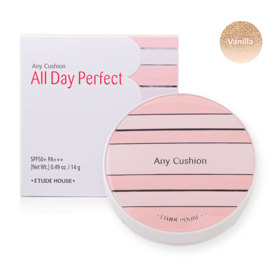 Etude House Any Cushion All Day Perfect SPF50+ PA+++ 14g #Vanilla