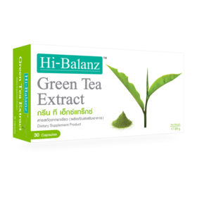 Hi-Balanz Green Tea Extract 30 Capsules