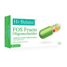 Hi-Balanz Fos Fructo Oligosaccharides 30 Capsules