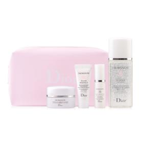 Set Diorsnow 4 Itims With Make Up Bag  #Light Pink