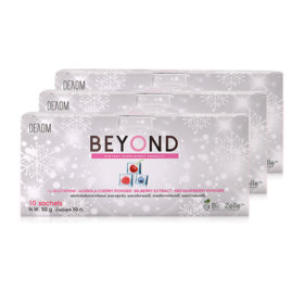 BEYOND Space Gluta Supplement Product (10sachets x 3pcs)