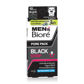 Biore Men Pore Pack Black Refreshing Cool 10pcs