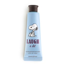 Innisfree Snoopy Limited Edition Perfumed Hand Cream 30ml #Laugh A Lot