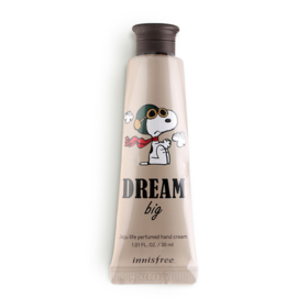 Innisfree Snoopy Limited Edition Perfumed Hand Cream 30ml #Dream Big