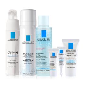 La Roche Posay Facial Care For Sensitive Skin Buy 2 Get 4 Free (Toleriane Ultra light 40ml + Eau Thermal 50ml Free! Toleriane Fo