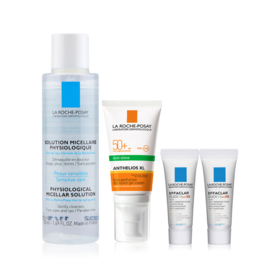 La Roche Posay Sun Protection Exclusive Set Buy 1 Get 3 Free (Anthelios XL Gel-Creme Dry 50++ Micellar For Reactive Skin 50ml +