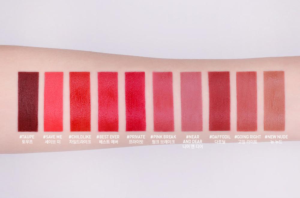 3CE Velvet Lip Tint #Taupe_5