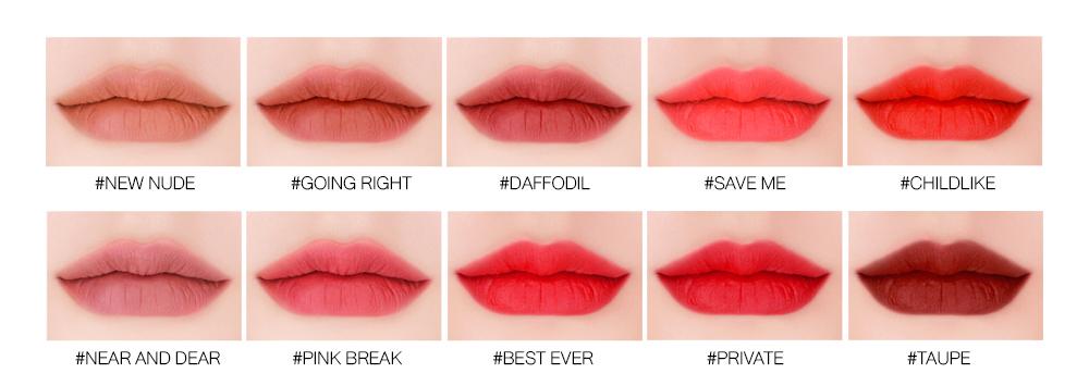 3CE Velvet Lip Tint #Taupe_6