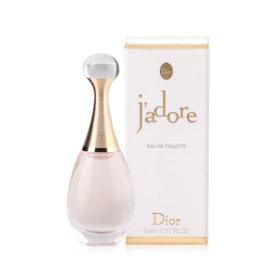 Dior J'adore Eau De Toilette with box 5ml