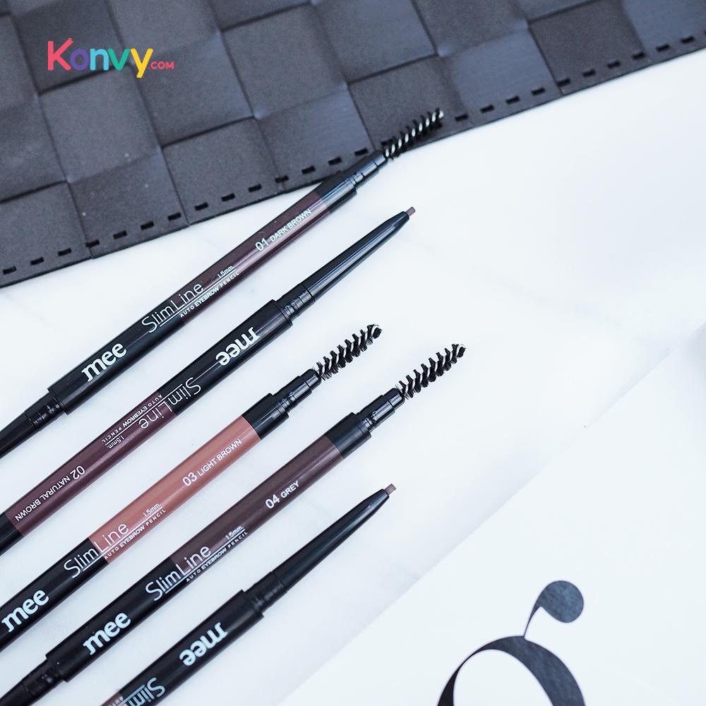 Mee Slim Line Auto Eyebrow Pencil 1.5mm. #04 Grey_2