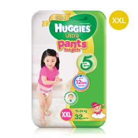 Huggies Ultra Gold Pant 32pcs #XXL (Girl)