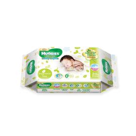 Huggies Babywipe Gentle Care 20Sheet