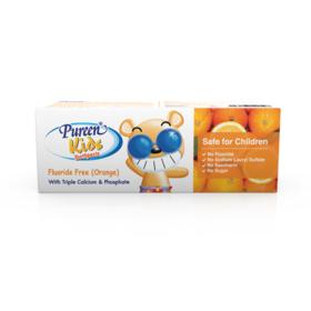 Pureen Toothpaste Kid Orange 40g (Fluoride Free)