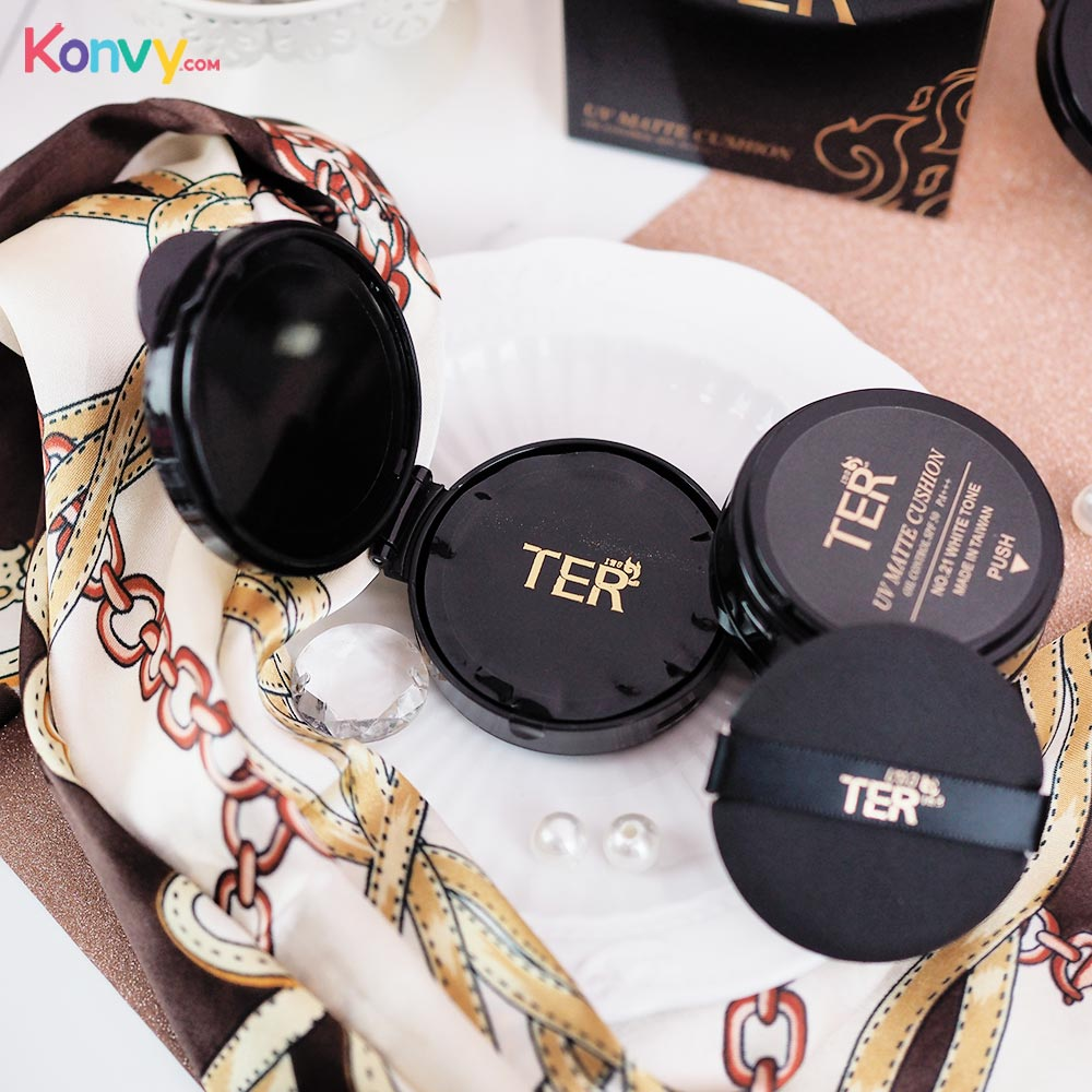TER UV Matte Cushion Oil Control SPF 50 PA+++ #21 White Tone_3