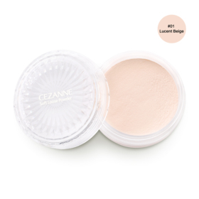 Cezanne Soft Loose Powder SPF16/PA++ 5g #01 Lucent Beige