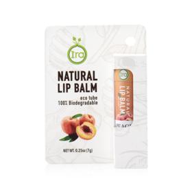 IRA eco tube Natural Lip Balm Peach 7g