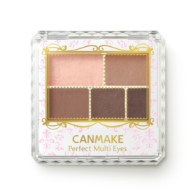 Canmake Perfect Multi Eyes 3.3g #01 Rose Chocolate