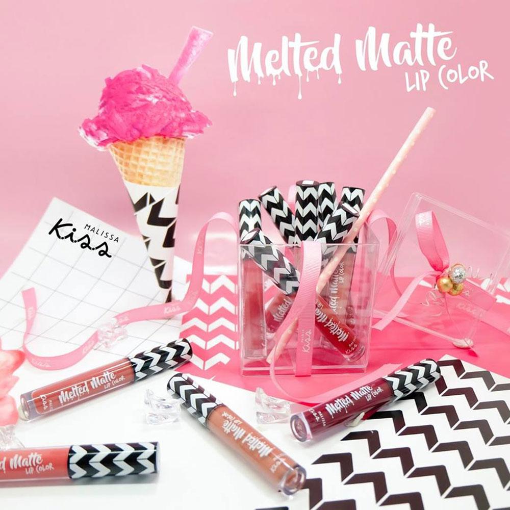 ผลการค้นหารูปภาพสำหรับ Malissa Kiss Melted Matte Lip Color