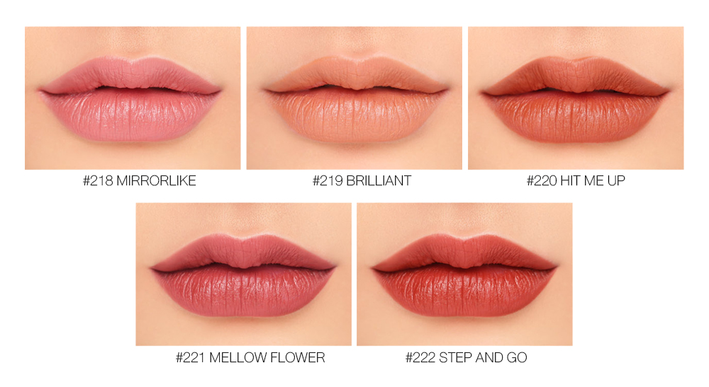 3CE Lip Color #218 Mirrorlike_5