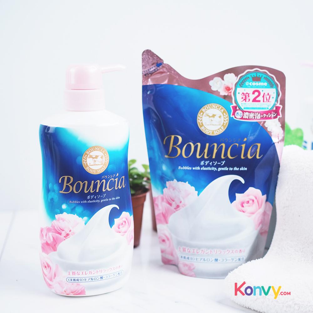 BOUNCIA Elegant Relax Floral Body Soap 430ml (Refill)