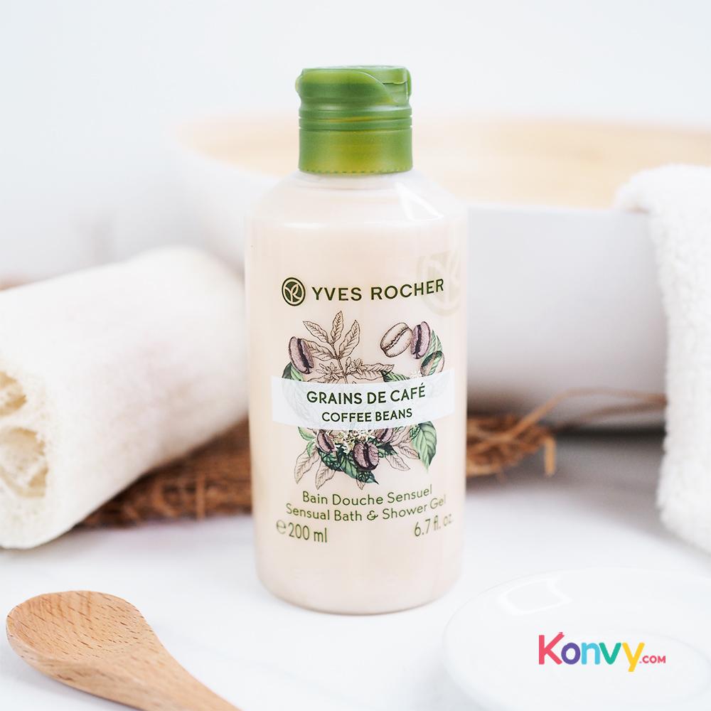 Yves Rocher Sensual Bath & Shower Gel 200ml #Coffee Beans_1