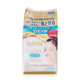 Bifesta Cleansing Sheet Oil-In 40sheets