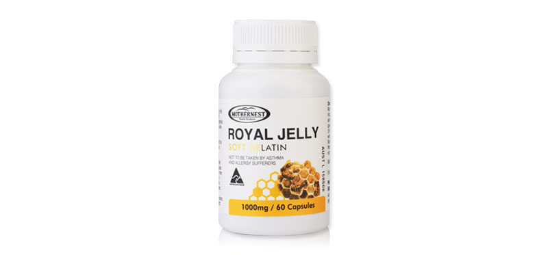 Mothernest Royal Jelly Soft Gelatin 1000mg (60 Capsules)