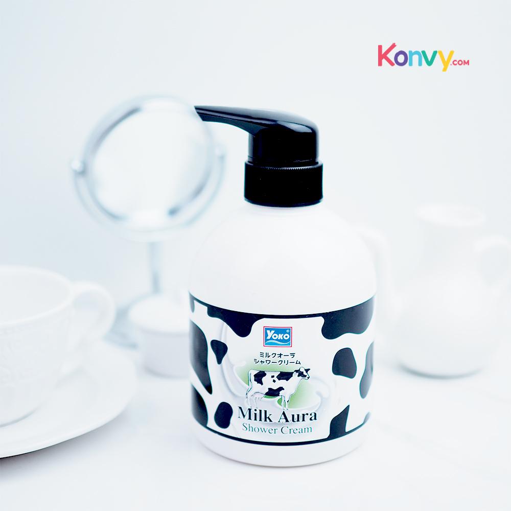 Yoko Milk Aura Shower Cream 500ml_1