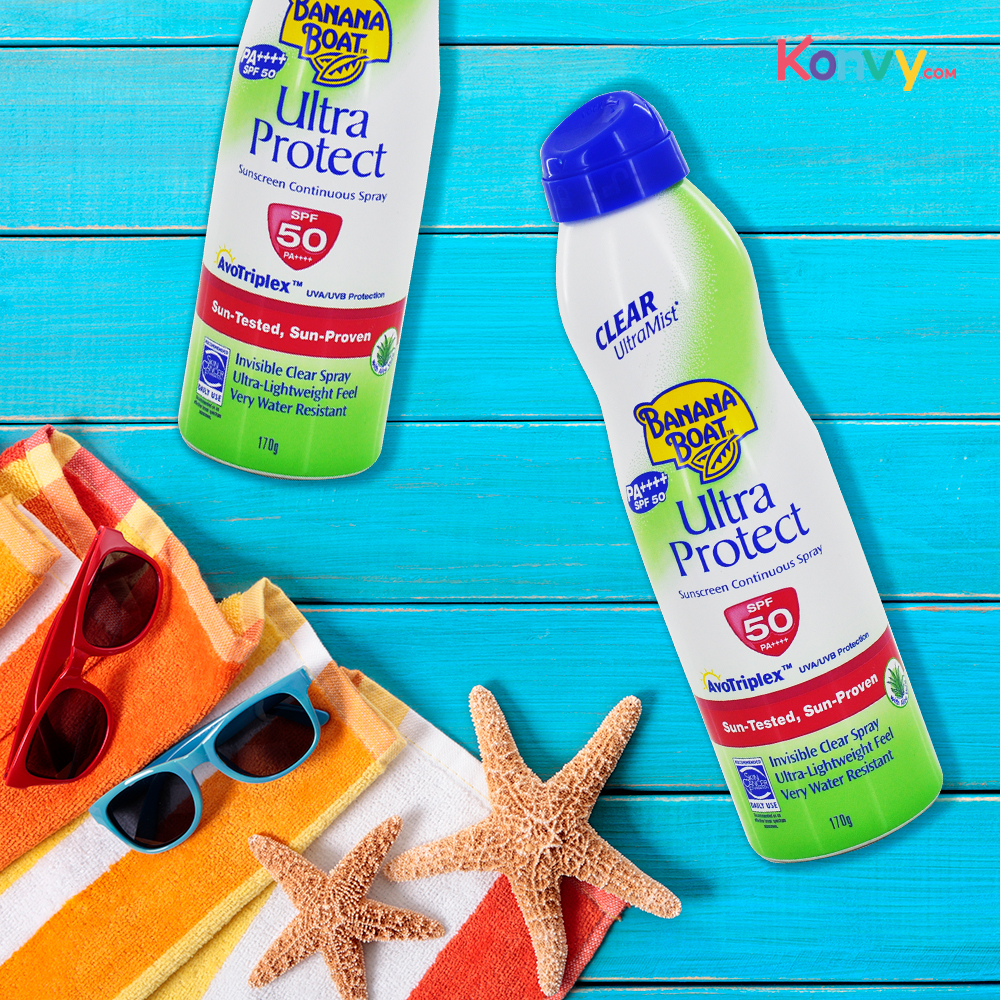 Banana Boat Ultra Mist Protect Sunscreen Lotion SPF50 170ml