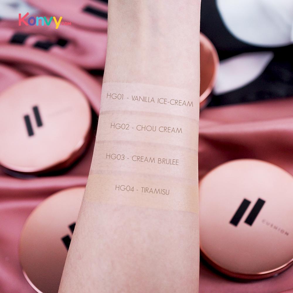 FIIT Everyday Cushion Healthy Glow SPF50+/PA+++ #02 Chou Cream_4