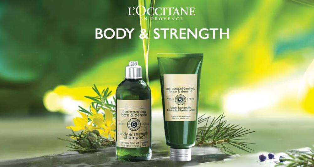 �ล�าร���หารู��า�สำหรั� L'Occitane Body & Strength Shampoo