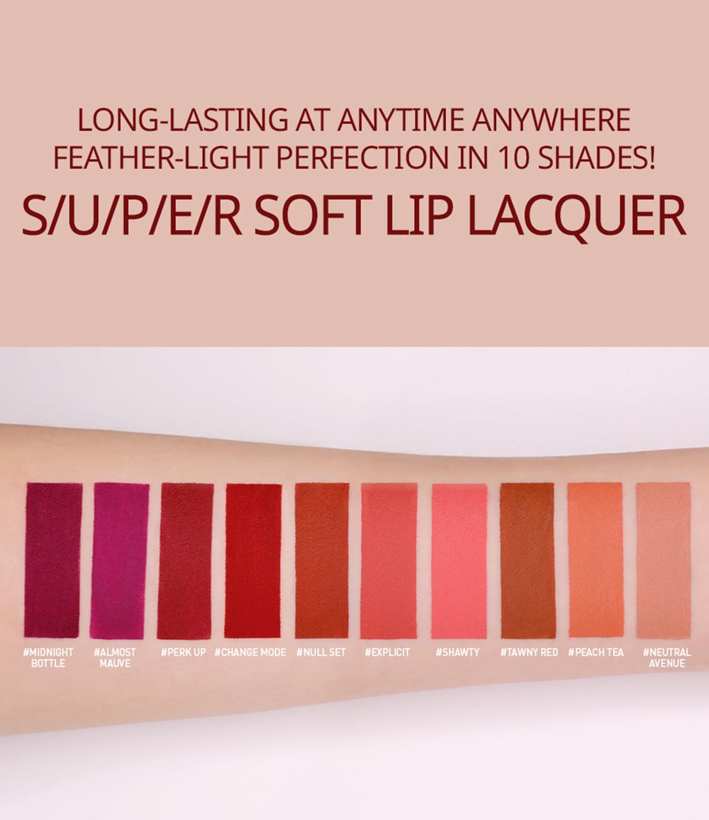 3CE Stylenada Soft Lip Lacquer #Tawny Red_4