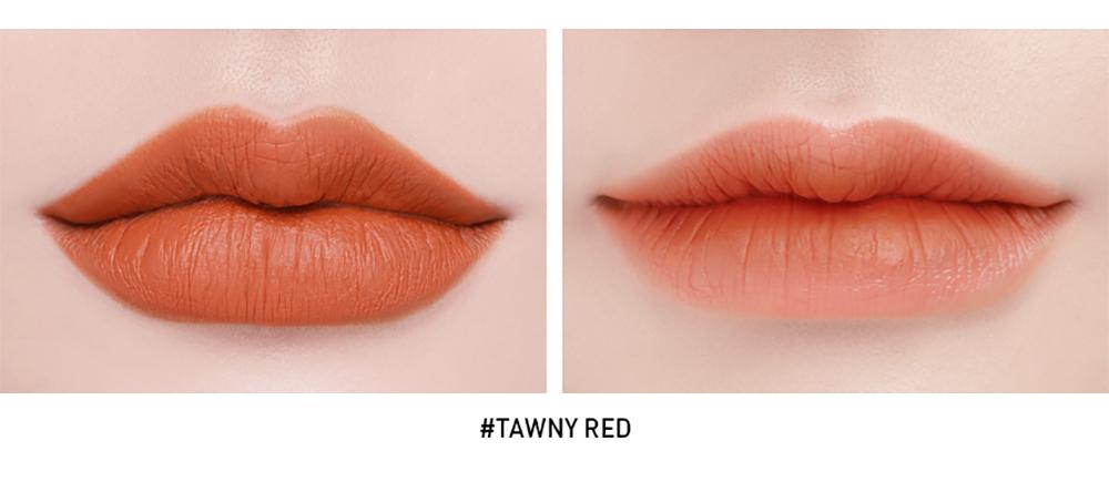 3CE Stylenada Soft Lip Lacquer #Tawny Red_5